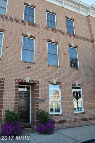 Baltimore MD Townhouse For Sale: $483,500