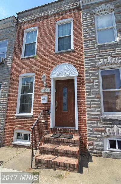 Federal Hill Townhouse For Sale: 1628 Clarkson Street