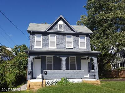 Baltimore MD Multi Family Home For Sale: $195,000