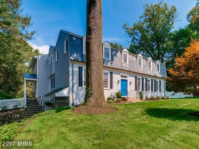 Baltimore Single Family Home For Sale: 1010 Winding Way