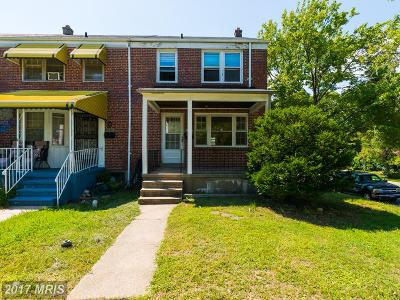 Baltimore Townhouse For Sale: 5822 Glenkirk Court