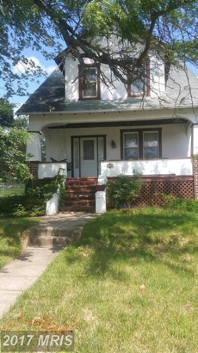 Baltimore Single Family Home For Sale: 3308 Glenmore Avenue