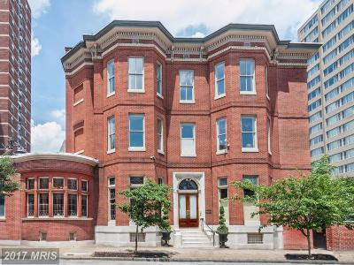 Baltimore Single Family Home For Sale: 106 Chase Street E