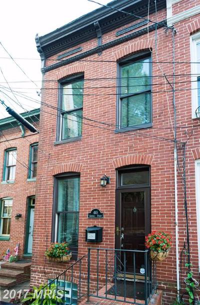 Federal Hill Townhouse For Sale: 445 Grindall Street