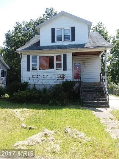 Baltimore Single Family Home For Sale: 5417 Pembroke Avenue