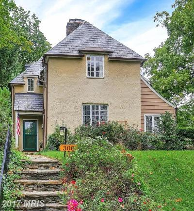 Baltimore Single Family Home For Sale: 308 Taplow Road