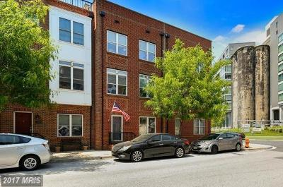 Locus Point, Locust Point, Locust Point/Silo Point Townhouse For Sale: 1402 Steuart Street