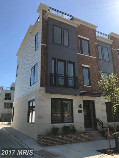 Locus Point, Locust Point, Locust Point/Silo Point Townhouse For Sale: 1239 Towson Street