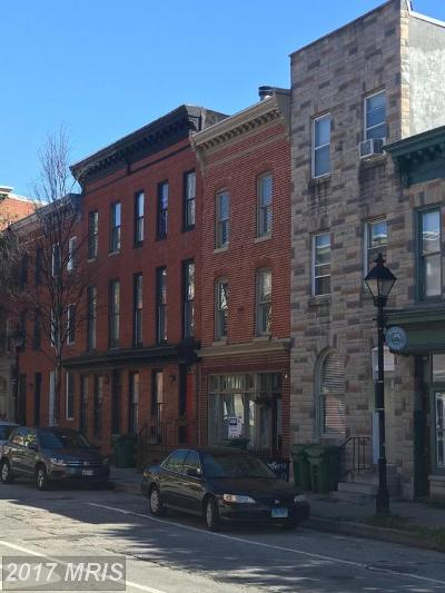 Baltimore Townhouse For Sale: 1242 Richardson Street