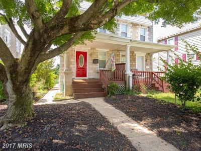 Baltimore Townhouse For Sale: 1240 Richardson Street