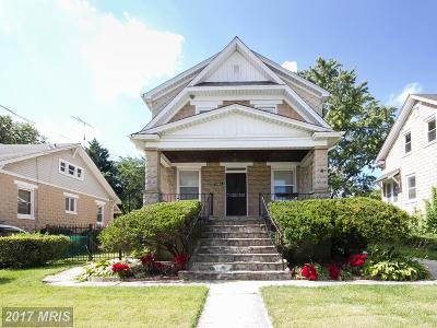Baltimore Single Family Home For Sale: 3503 Frankford Avenue