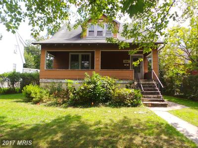 Baltimore Single Family Home For Sale: 5307 Catalpha Road