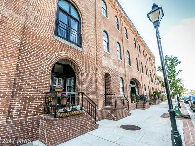 Fells Poi Nt, Fells Point, Fells Point/Hopkins, Fells Pt./Hopkins Townhouse For Sale: 960 Fell Street #948