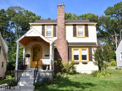 Baltimore Single Family Home For Sale: 3122 Glendale Avenue