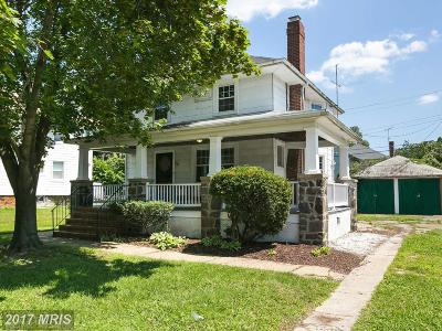 Baltimore Single Family Home For Sale: 3605 Grantley Road