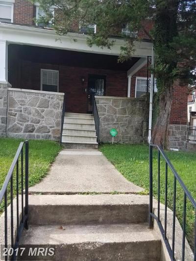 Baltimore MD Condo For Sale: $85,000