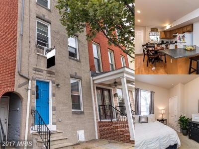 Baltimore Townhouse For Sale: 107 Chester Street N