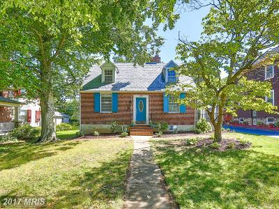 Baltimore Single Family Home For Sale: 705 Brookwood Road