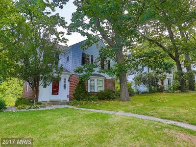 Baltimore Single Family Home For Sale: 1202 Southview Road