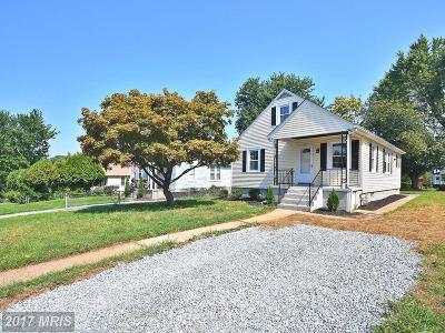 Baltimore Single Family Home For Sale: 3812 W Overlea Avenue