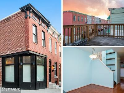 Baltimore City Rental For Rent: 2710 E Fairmount Avenue