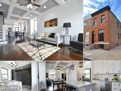 Baltimore Townhouse For Sale: 600 Eaton Street