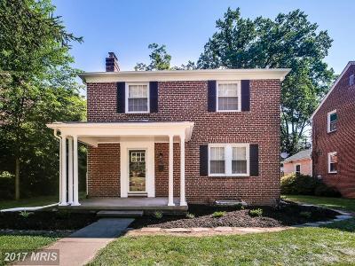 Baltimore Single Family Home For Sale: 910 Belvedere Avenue