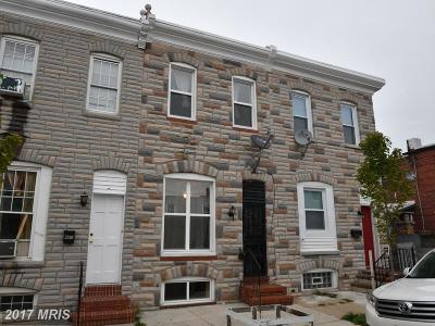 Baltimore City Rental For Rent: 3312 Leverton Avenue