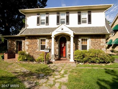 Baltimore Single Family Home For Sale: 3117 Grindon Avenue