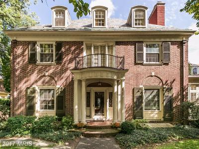 Baltimore Single Family Home For Sale: 3903 Charles Street