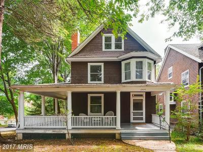 Baltimore Single Family Home For Sale: 4835 Keswick Road