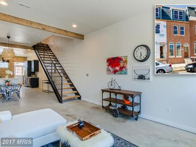 Baltimore Townhouse For Sale: 1608 Barclay Street