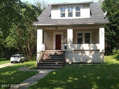 Baltimore Single Family Home For Sale: 5106 Anthony Avenue