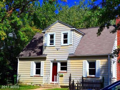 Baltimore Single Family Home For Sale: 3020 Mary Avenue