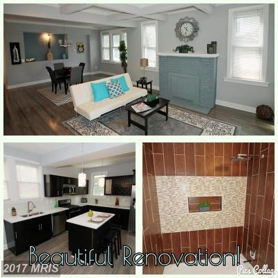 Baltimore Single Family Home For Sale: 2917 Silver Hill Avenue