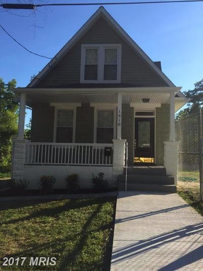 Baltimore Single Family Home For Sale: 1516 Parksley Avenue