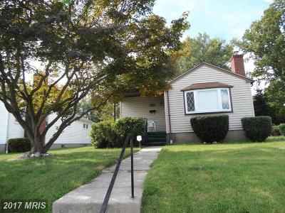 Baltimore Single Family Home For Sale: 4503 Anntana Avenue