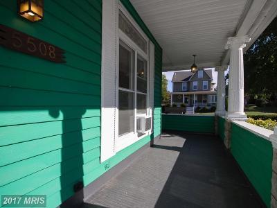 Hamden, Hamilton, Hamilton Area, Hamilton-Lauraville, Hamilton/Parkville, Hamilton/Rosemont East, Hamiltowne Single Family Home For Sale: 5508 Elsrode Avenue