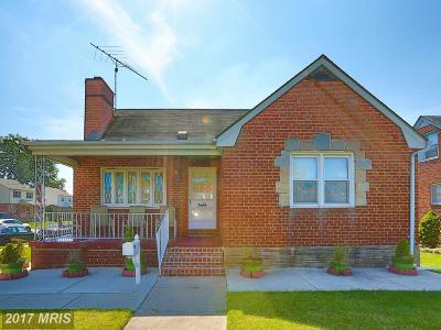 Baltimore Single Family Home For Sale: 3311 East Northern Parkway E