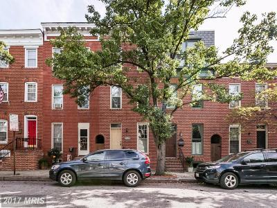 Federal Hill Townhouse For Sale: 1115 Battery Avenue