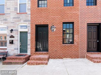 Baltimore City Condo For Sale: 2527 Fleet Street