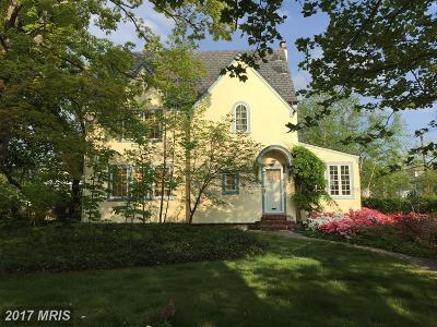 Baltimore Single Family Home For Sale: 6101 Blackburn Lane