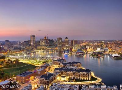 Baltimore City Rental For Rent: 801 Key Highway #413