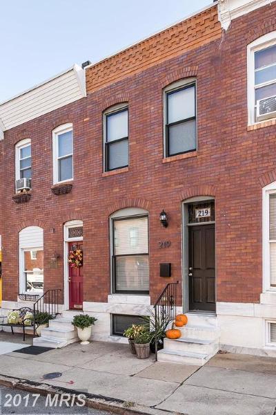 Baltimore Condo For Sale: 219 Robinson Street