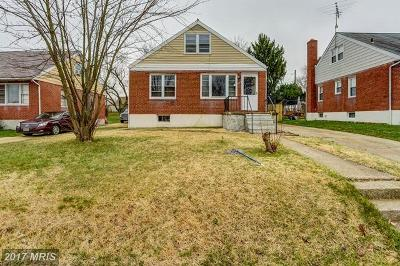 Single Family Home For Sale: 2505 Parktrail Road
