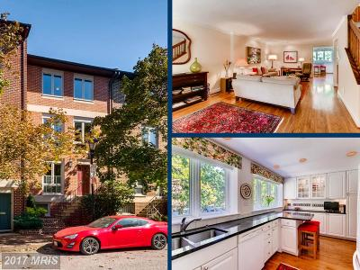 Baltimore Townhouse For Sale: 607 Hanover Street