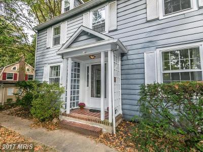 Baltimore Single Family Home For Sale: 307 Edgevale Road