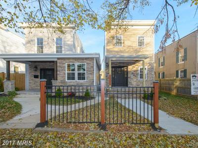 Hampden, Hampden Hon!! Single Family Home For Sale: 3721 Roland Avenue
