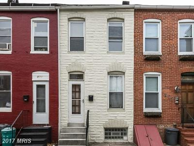 Baltimore Townhouse For Sale: 504 Rose Street
