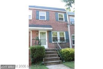 Baltimore Single Family Home For Sale: 379 Marydell Road